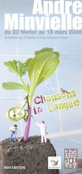 « Chansons la langue» André Minvielle
