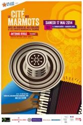 Affiche Cité des Marmots 2014