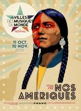 visuel Festival Villes des Musiques du Monde 2019